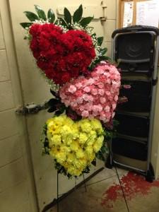 Heartfelt Condolences Standing Spray in Sherwood, AR | SHERWOOD FLORIST