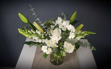 Heartfelt Condolences Vased arrangement