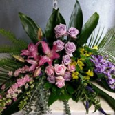 HEARTFELT EMBRACE  CASKET FLOWER