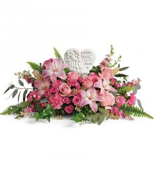 **Heartfelt Farewell Bouquet DX T280-8B Teleflora's in Hesperia, CA | ACACIA'S COUNTRY FLORIST
