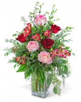 Heartfelt Home Flower Arrangement
