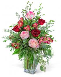 Heartfelt Home Flower Arrangement