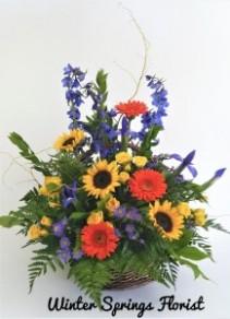 Heartfelt Tribute  Basket Design