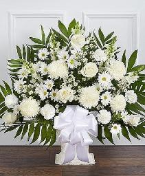 Heartfelt Tribute White 148745L