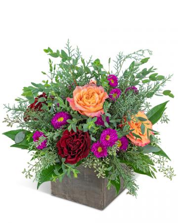 Hearth and Haven Flower Arrangement