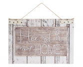 Hearth & Home Wall Plaque