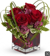 Hearts Ablaze Cube arrangement