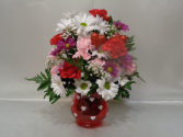 Hearts and Flowers Arrangement