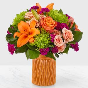 Hearts and Kisses Designer Vase Arrangements