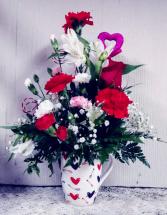 Hearts & Arrows Mug