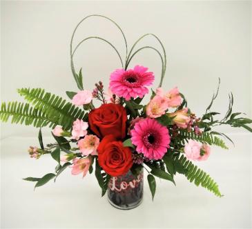 Hearts Content  Floral Arrangement