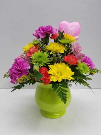 Hearts Delight Centerpiece