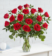 Heart's Desire 18 Rose Rose Arrangement