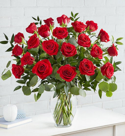 Heart's Desire  Long Stem Red Roses