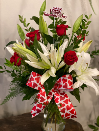 Heart's Desire  Vase arrangement