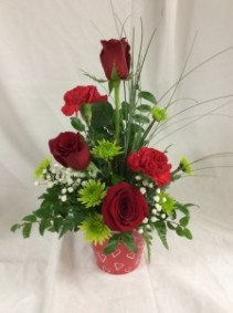 Heart's Embrace Bouquet Arrangement