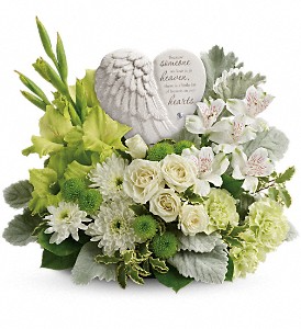 Hearts in heaven - 278 Sympathy arrangement  in Woodstock, ON | Smith's Flowers