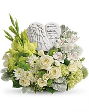 Hearts In Heaven Bouquet in Jasper, TX | BOBBIE'S BOKAY FLORIST