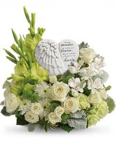 Hearts In Heaven Bouquet sympathy arrangements