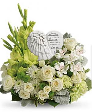 Hearts in Heaven Bouquet  Teleflora  in Richmond, MI | The Blue Orchid