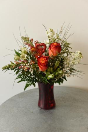 Hearts on Fire  in La Grande, OR | FITZGERALD FLOWERS