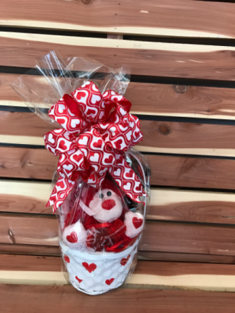Hearts on Fire  Gift Basket