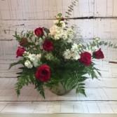 Hearts on Fire Premium Floral Arrangement