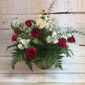 Hearts on Fire Premium Floral Arrangement in Saint Louis, MO | Irene's Floral Design