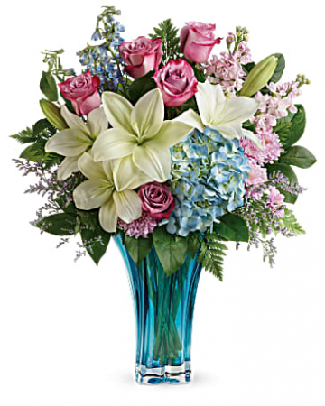 Heart's Pirouette Bouquet