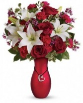 Heartstrings Vase Arrangement