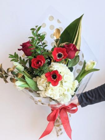 Heartthrob Hand Tied Bouquet