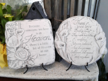 Heaven or Those We Love Plaque with Stand Memorial Plaque