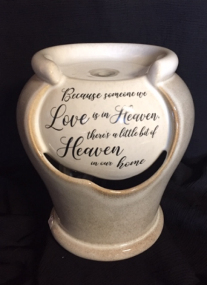 Heaven Table Fountain  in Fowlerville, MI | ALETA'S FLOWER SHOP