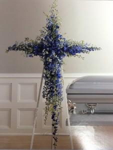 Heavenly Blue Standing Spray