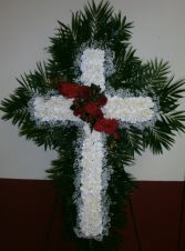 HEAVENLY CROSS Sympathy Tribute