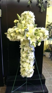 Heavenly Divine Standing Cross Spray