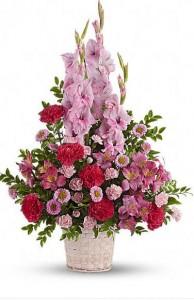Heavenly Funeral Basket Baskets Start at $60.00
