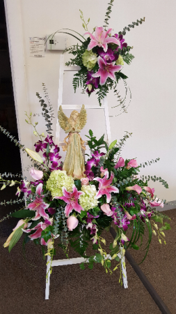 Heavenly Grace Arrangement in Lexington, NC | RAE'S NORTH POINT FLORIST INC.