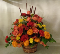 Heavenly Harvest Arrangement