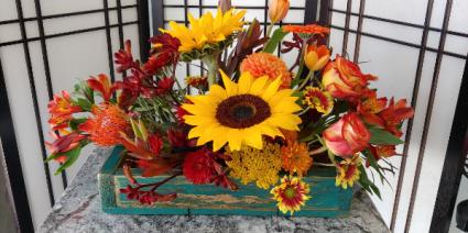 Heavenly Harvest  Fall Arrangement