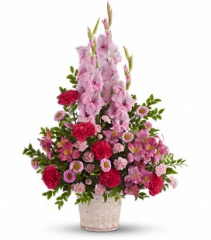 Heavenly Heights Basket Arrangement