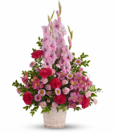 Heavenly Heights Fresh Arrangement