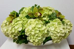 Heavenly Hydrangea Arrangement in Boca Raton, FL | Flowers of Boca