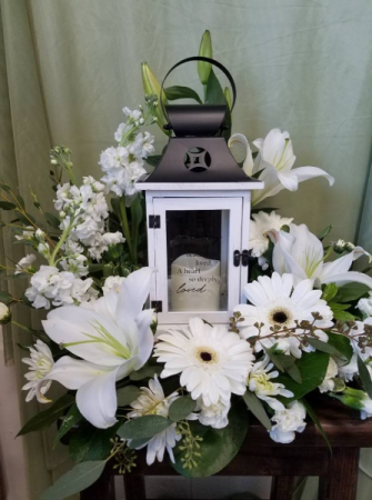 Heavenly Lantern Memorial Arrangement