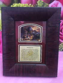 HEAVENLY LETTER PICURE FRAME