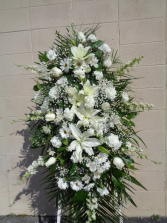 Heavenly Lily Standing Spray Standing Arrangement