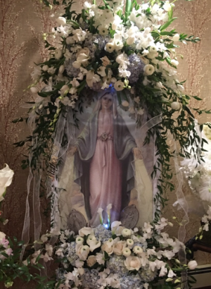 Heavenly original Blessed mother in Ozone Park, NY | Heavenly Florist