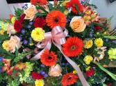 Heavenly Sunshine casket Cover
