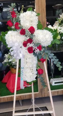 Heavenly Tribute  Funeral Cross