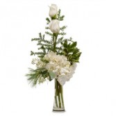 Heavenly White Fresh Flower Arrangement